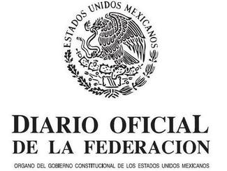 Diario Oficial de la Federacin